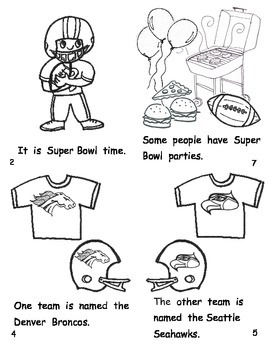 All About The Super Bowl Pack for Kinder-1st