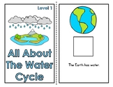 All About The Water Cycle Adapted Book (2 Levels)