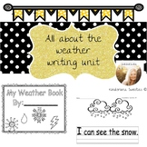 All About The Weather Writing pages