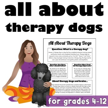 All About Therapy Dogs