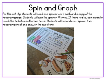 All About Those Graphs (7 different activities for bar graphs & picture graphs)