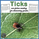 All About Ticks for Reading Elementary Grades
