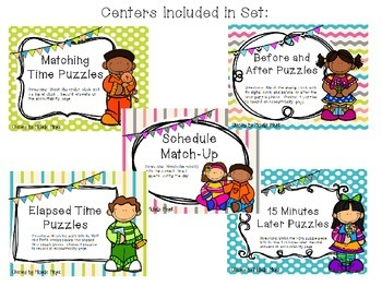 All About Time Puzzle Centers