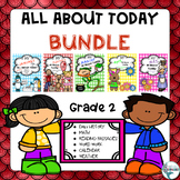 All About Today Morning Work Monthly Booklets Bundle, January to May