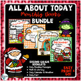 Back to School Morning Work Bundle, All About Today Monthl