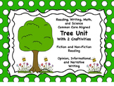 Tree Unit (ELA and Math Common Core Aligned)