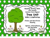 Tree Unit (ELA and Math Common Core Aligned)