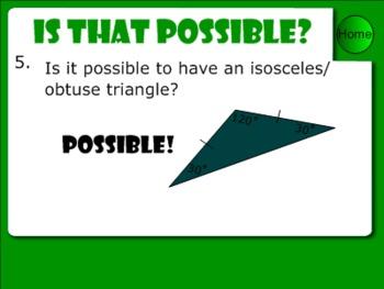 Triangles Smart Notebook Presentation