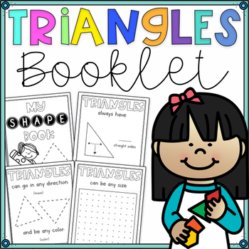 2D Shapes Book- Triangles