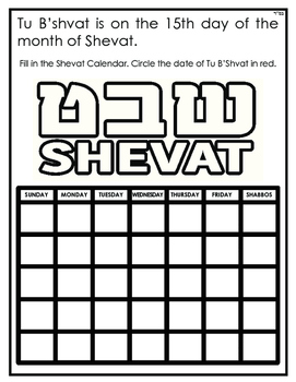 All About Tu B'Shevat
