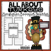 All About Turkeys Nonfiction Research Booklet