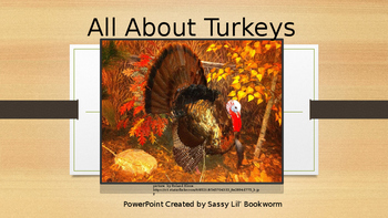 All About Turkeys PowerPoint