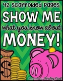 All About U.S. Money, Coins and Change- Scaffolded & Differentiated K/1/2 CCSS