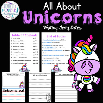 All About Unicorns: Writing Templates