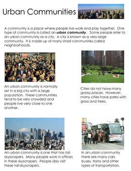 All About Urban Communities