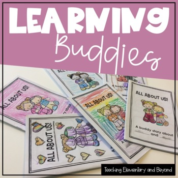 All About Us! A Learning Buddies / Reading Buddy Book