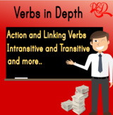 VERBS in Depth CCSS Aligned Action and Linking verbs, verb