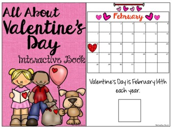 All About Valentine's Day: Interactive Book