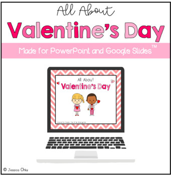 All About Valentine's Day PowerPoint and Quiz