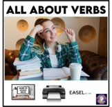 All About Verbs Grammar Worksheets