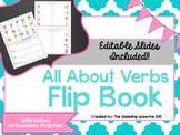 All About Verbs FLIP BOOKS (Editable slides included)