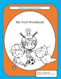 All About Verbs PowerPoint and Workbook Bundle
