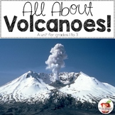 All About Volcanoes-Language Arts Unit for grades 1 to 3