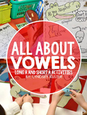 All About Vowels {Long A and Short A Practice Pack}