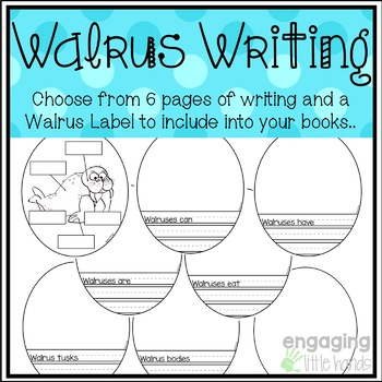 All About Walruses Craft