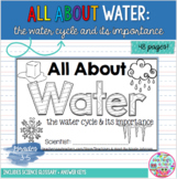 All About Water NGSS mini-book