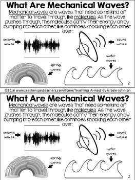 All About Waves NGSS mini-book