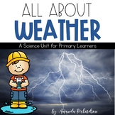 Weather Unit: Types of Weather, Water Cycle, and Seasons Activities