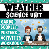 Weather Worksheets, Activities, Posters, and Lapbook