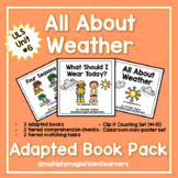 All About Weather Adapted Book Pack