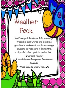 Weather Literacy and Graphing Pack