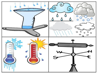 Weather Reading Comprehension Task Cards (TEKS 2.4A, 2.8A, 2.8C)  32 Cards