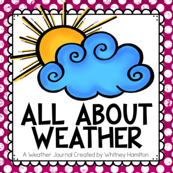 All About Weather Science Journal {Temperature, Seasons, C