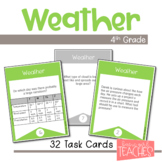 All About Weather Task Cards