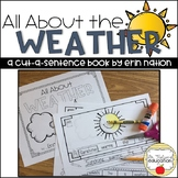 """All About Weather"" a Cut-a-Sentence Book"