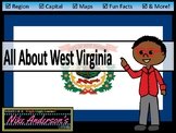 All About West Virginia | US States | Activities & Worksheets