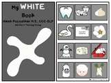 All About White Interactive Book and Activities