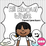 All About White Themed Game Board