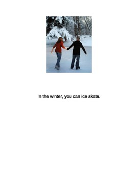 All About Winter- Story for Preschool