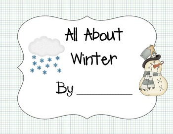 Seasons All About Winter Book