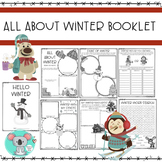 All About Winter Booklet: Winter Worksheets And Activities