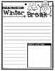 All About: Winter Break Graphic Organizer