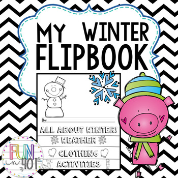 All About Winter Flip Book!
