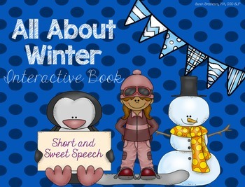 All About Winter: Interactive Book