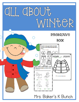 All About Winter Interactive Book