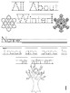 """""""All About Winter"""" Printable Cut, Trace & Color Book!"""
